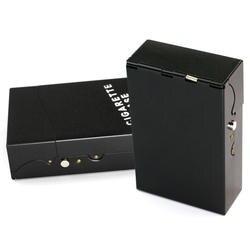 Новый металлический корпус для сигарет, кожаный держатель для сигары сигареты, портативный контейнер для хранения табака, аксессуары для курения, гаджеты