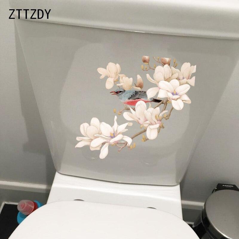 ZTTZDY настенный стикер для ванной, туалета, 23,1*21,7 см