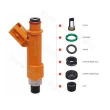 Ensemble de 1000 Kits de réparation dinjecteur de carburant   03-11Toyota Camry 10-12 LEXUS HS250H 2.4L micro filtres inclus joints en caoutchouc