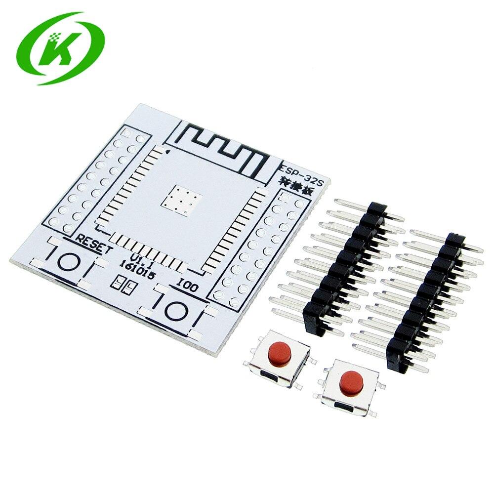5pcs ESP32 ESP32S Wireless WIFI Bluetooth Module Adapter Board Pinboard Convertor Module ESP-32 ESP-32S