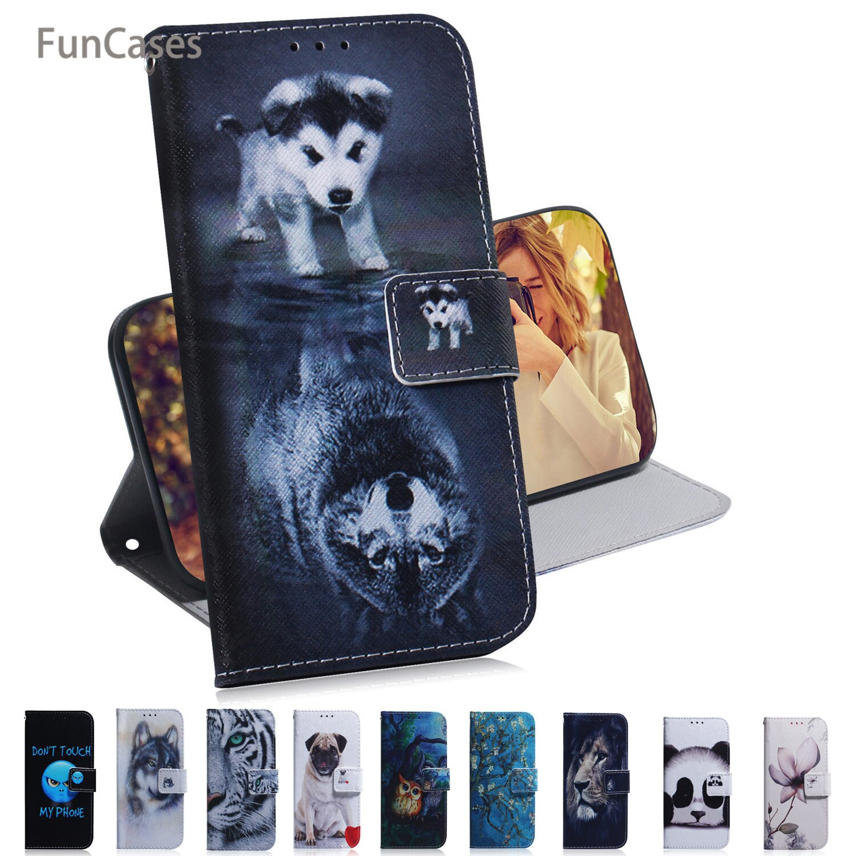 Fundas para teléfono inteligente búho para accesorios Samsung A750 maravilloso cuero PU...