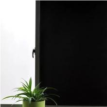 Privacy window film Blackout Anti-UV glass sticker Static Window Tint 100% Light Blocking Frosted Bedroom Decorative Vinyl Film