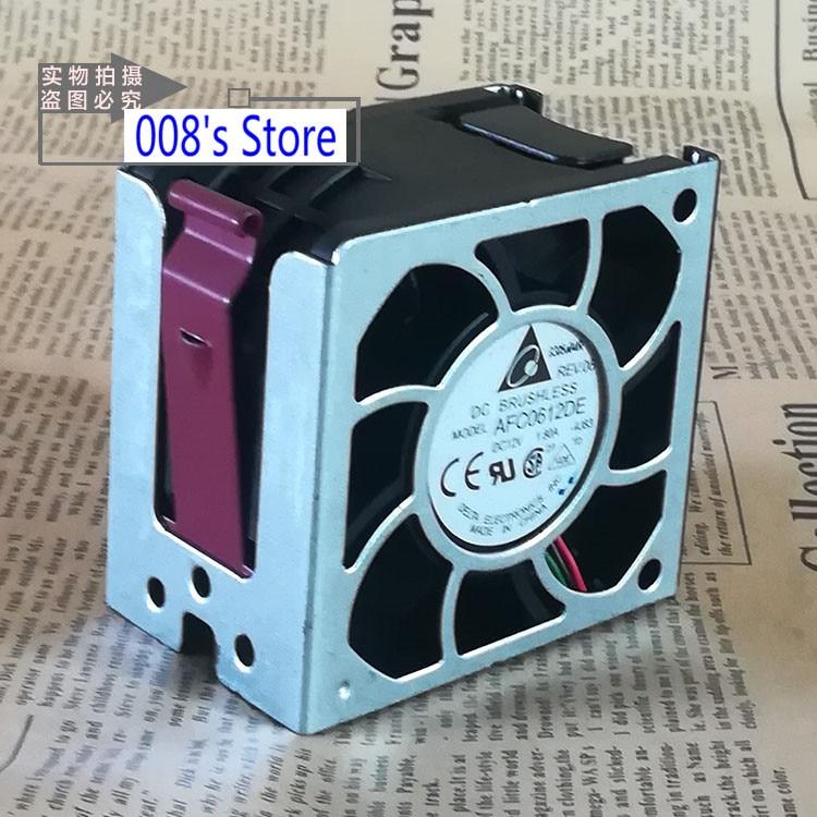 Радиатор ЦП охлаждающий вентилятор для HP DL385G2 DL380G5 серверный ПК AFC0612DE 6038 12 В 1.8A DL380 G5 DL385 G2 в сборе 394035-001 охлаждение