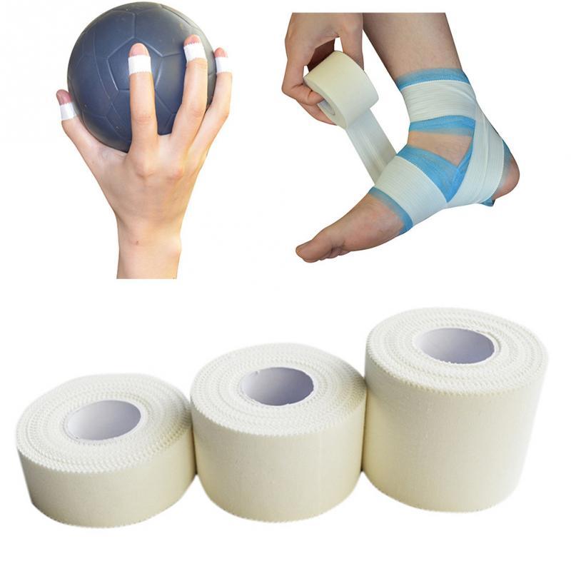 Respirável Primeiros Socorros Bandagem Elástica Adesiva Rolo de Fita Atlético Esporte Lesão Proteção da Tensão Muscular Cinesiologia Tape # H10 *
