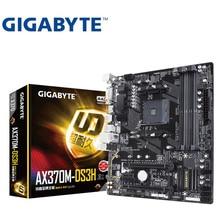 Für Gigabyte GA-AX370M-DS3H Original NEUE Motherboard AMD Sockel LGA 1151 DDR4 USB3.0 SATA3.0 AM4 spiel M-ATX kleine bord