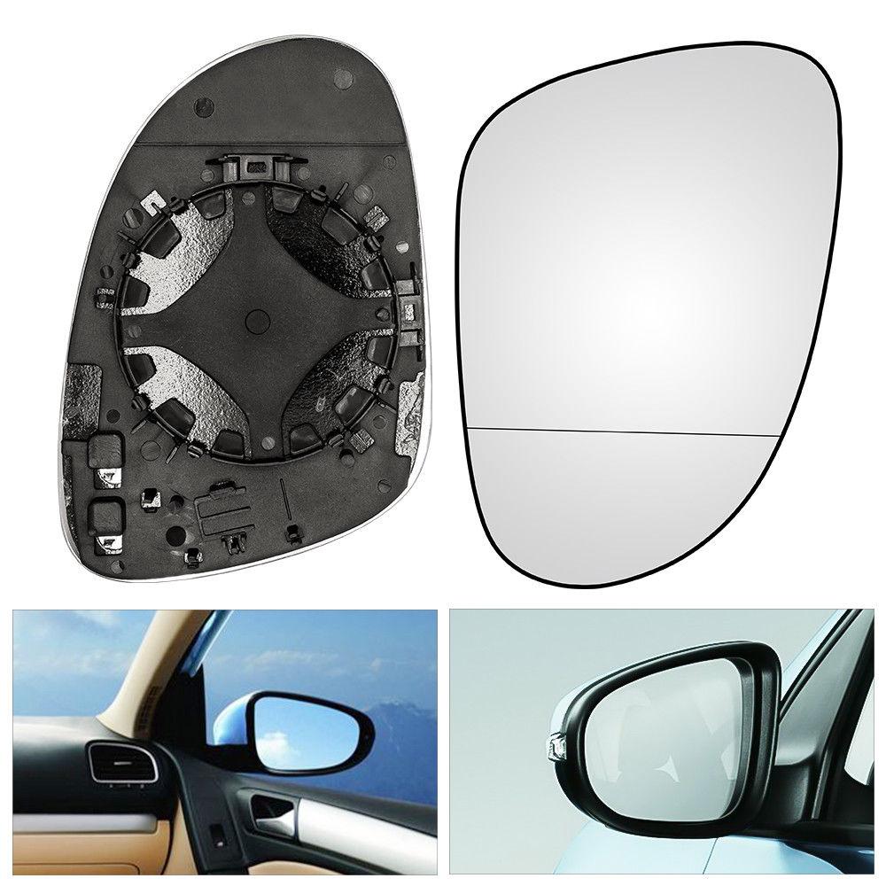 Автомобильное левое пассажирское боковое крыло зеркало стекло с подогревом Golf 5 MK5 2003-2008