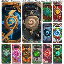 Chaude Hearthstone Heroes of Warcraft Silicone étui pour samsung Galaxy S10 S9 S8 Plus S7 Bord A6 A8 Plus A7 A9 2018 A5 2017 Couverture
