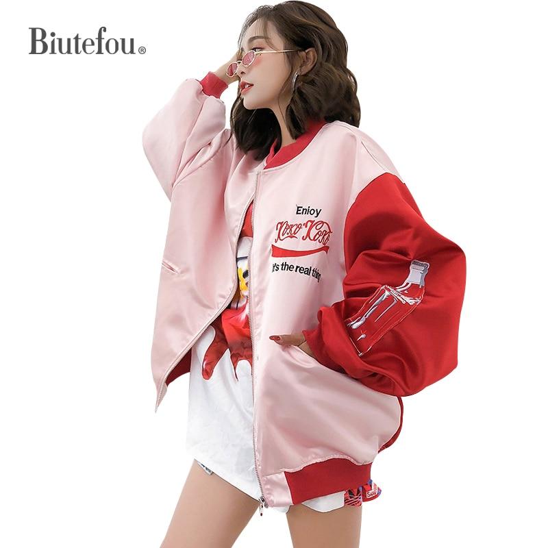 2020 otoño moda bordado chaquetas sueltas mujeres empalmadas chaquetas largas