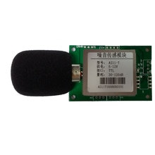 Noise sensor module decibel detection probe modbus RTU protocol RS485 sound level meter test measurement
