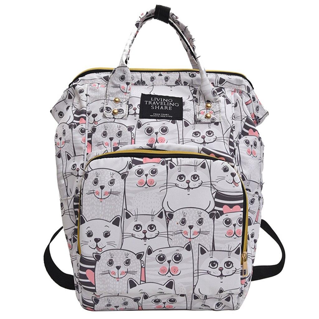 OCARDIAN, mochilas para mujer, novedad, moda Vintage, nailon con cremallera, bolsas para estudiantes femeninas, mochilas elegantes de alta calidad, Dropshipping 61721