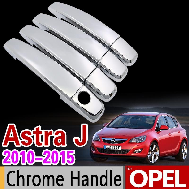 Набор хромированных покрытий для OPEL Astra J 2010-2015 Vauxhall Holden OPC GTC VRX2012 2014, автомобильные аксессуары, наклейки для стайлинга автомобиля