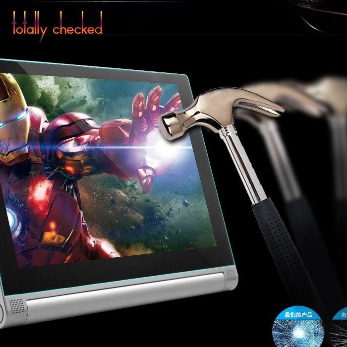 """Vidrio Real para Lenovo Yoga 2 830 830F 8 """"Tablet + Kit de limpieza a prueba de explosiones 9H protector de pantalla de vidrio templado película"""