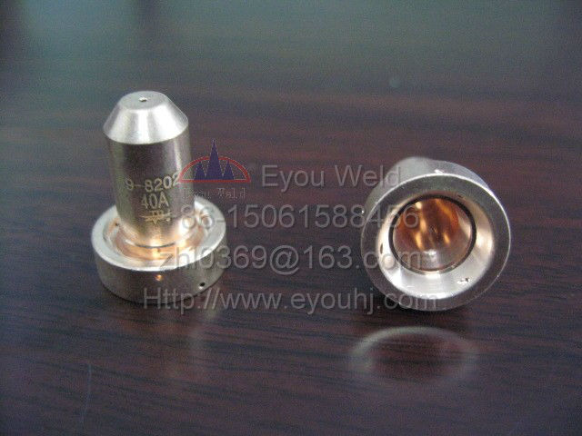 20ps 9-8208, тепловой динамик 40A, оболочка для резака, расходные материалы для воздушно-плазменного резака (SL60/SL100)