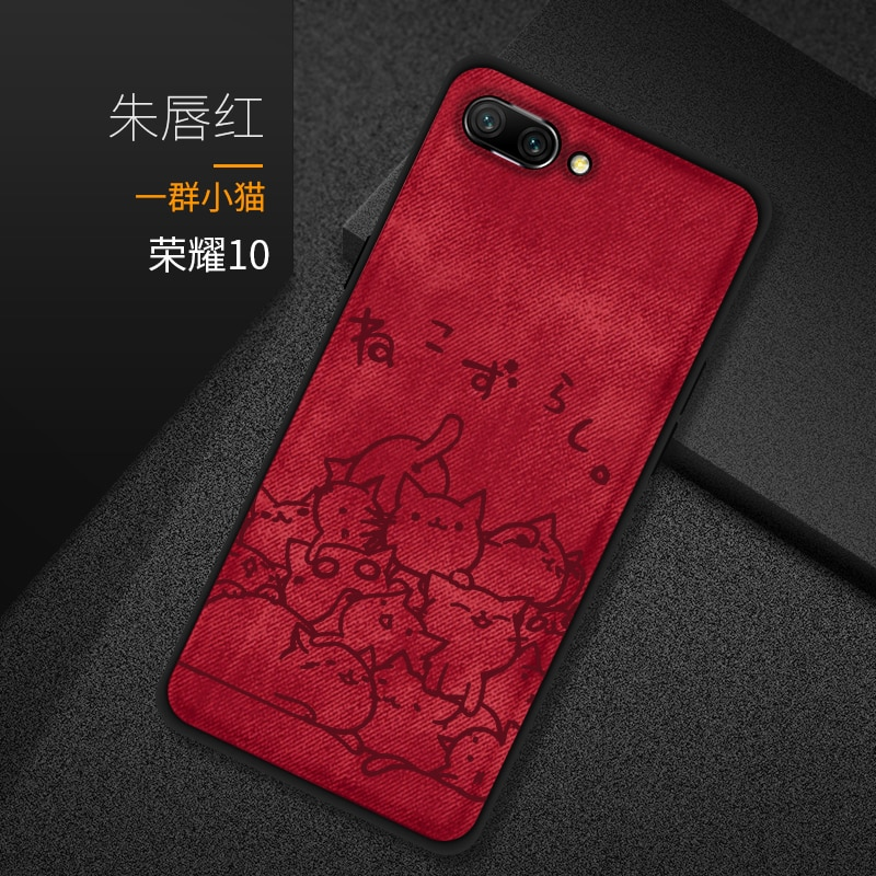 Funda para Huawei Honor 8C 7C, Funda para Huawei Honor 8X Max 6X 7X, Funda de tela, Funda para Huawei y9 2018
