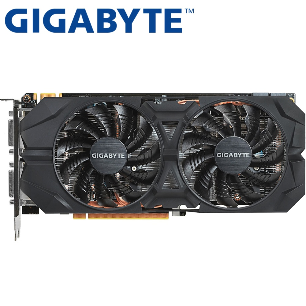 GIGABYTE Graphics Card Original GTX 960 2GB 128Bit GDDR5 Video Cards for nVIDIA VGA Cards Geforce GTX960 Used 1050 TI 750