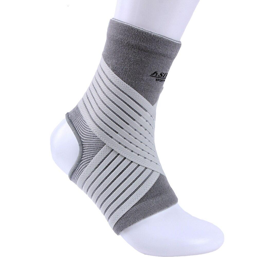 Equipo de deportes de spandex de nylon elástico venda de presión tobillo apoyo de tobillo protector envío gratis # ST6616
