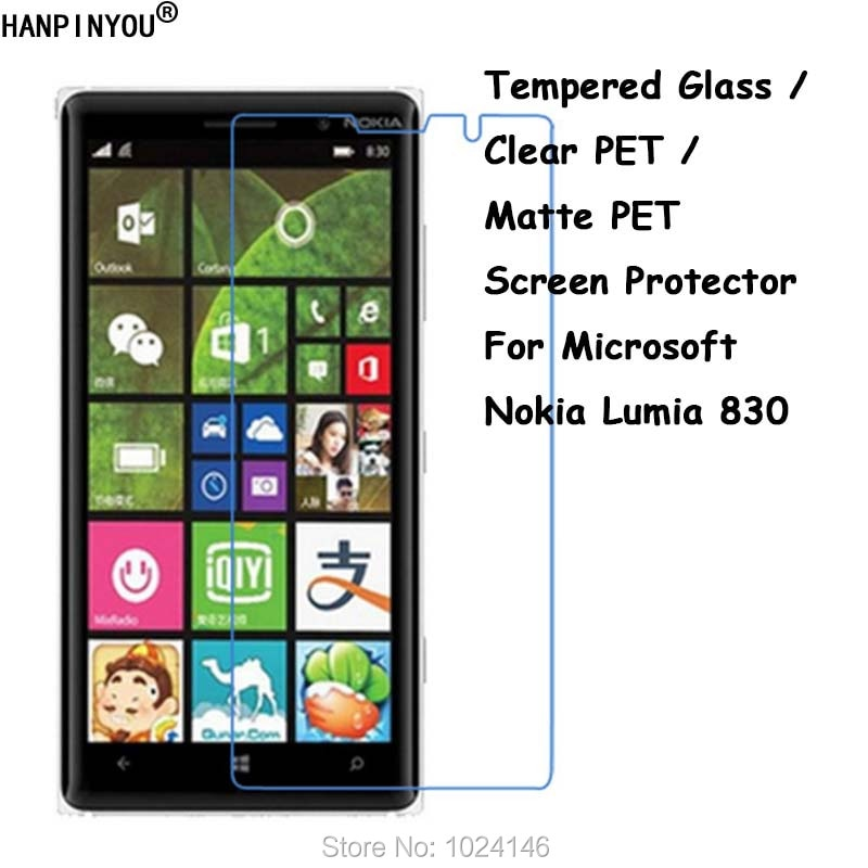 Tempered Glass / Clear PET / Matte PET -- Front Screen Protector Protective Film Guard Shield For No