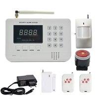 1 Set Offre Speciale securite Systeme Dalarme GSM PSTN ANTIVOL Reseau Sans Fil PIR Detecteur De MOUVEMENT capteur de contact de porte pour personnel