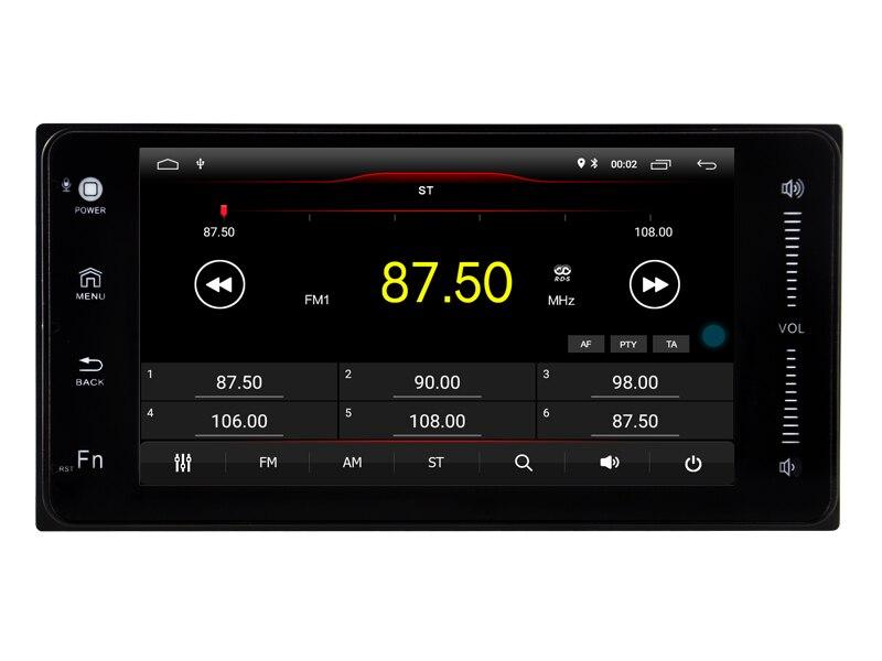 Navirider Android 8,1 car radio gps estéreo autoradio apto para toyota camry corolla prado venza tundra tarago tacoma matriz Kluger