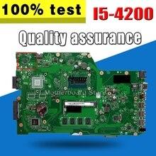 X751LA Motherboard I5-4200 4G speicher Für ASUS X751LA X751L X751LD Laptop motherboard X751LA Mainboard X751LA Motherboard