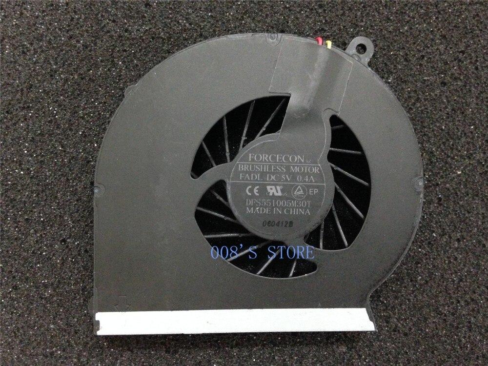 Enfriador de CPU ventilador de refrigeración para HP G43 G57 Compaq CQ43 CQ57 430, 431, 435, 436, 630, 631, 2000, de amistad, DFS551005M30T FADL 646183-001 647316-001