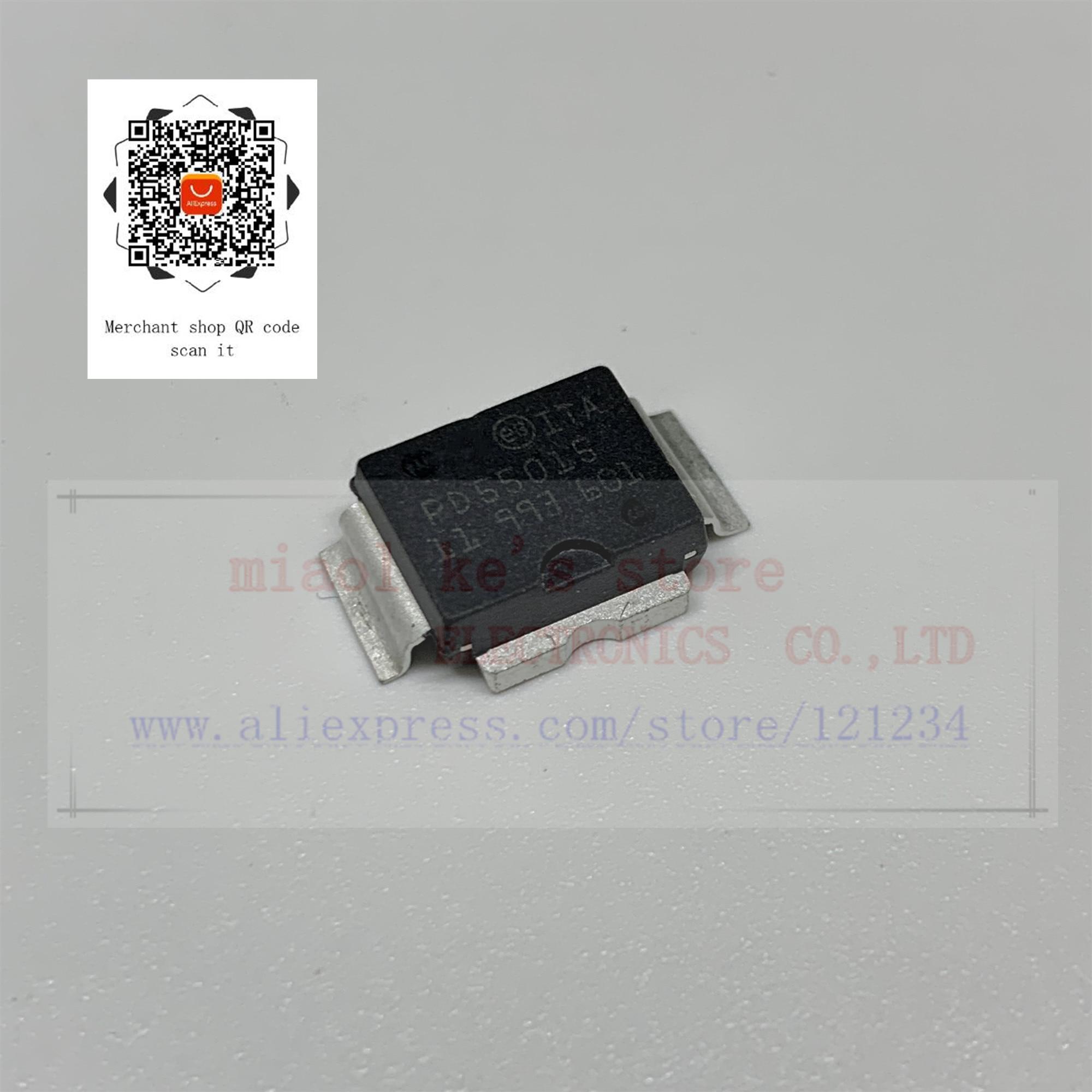 100% Новый оригинал; PD55015TR-E PD55015TR PD55015-E PD55015 [5A 40V 15W 14dB 500 MHz]-транс RF LDMOS N-Channel FET POWERSO-10RF