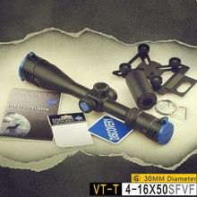 DISCOVERY VT-T 4-16X50SFVF FFP lunette de visée premier plan Focal Airsoft pistolet portée verrouillage réinitialisation avec support de téléphone pour la chasse au fusil à Air