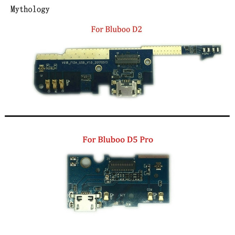 For Bluboo D5 Pro & D2 USB Charging Port Board Flex Cable Circuits Connector Parts Mobile Phone Myth
