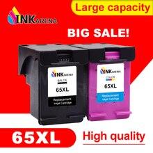 INKARENA 65XL ink Cartridge Replacement for HP65 for HP 65 DeskJet 3755 3758 3720 3722 3723 3732 3752 Printer Ink Cartridges