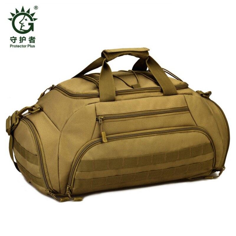 Caliente 35 litros mejor mochila de viaje bolso de camuflaje del ejército multiusos Casual 35L viaje mochila Shoe Store recibe bolsa