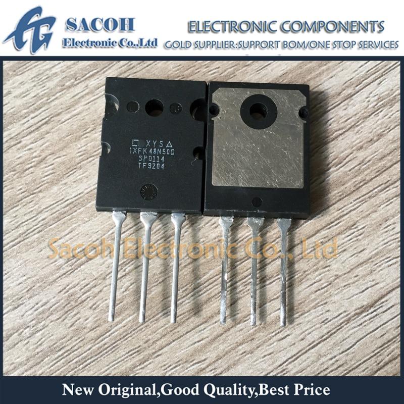 Envío Gratis 5 uds IXFK48N50Q IXFK48N50 48N50-264 48A 500V transistor MOSFET