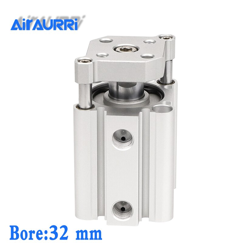 Фото - smc type air cylinder CQMB/CDQMB bore 32mm stroke 5/10/15/20/25/30mm compact rod guide pneumatic cylinder control system air cylinder sda series male thread pneumatic compact airtac type 16 20 25 32 40 50 63mm bore to 5 10 15 20 25 30 35 40 45 50mm