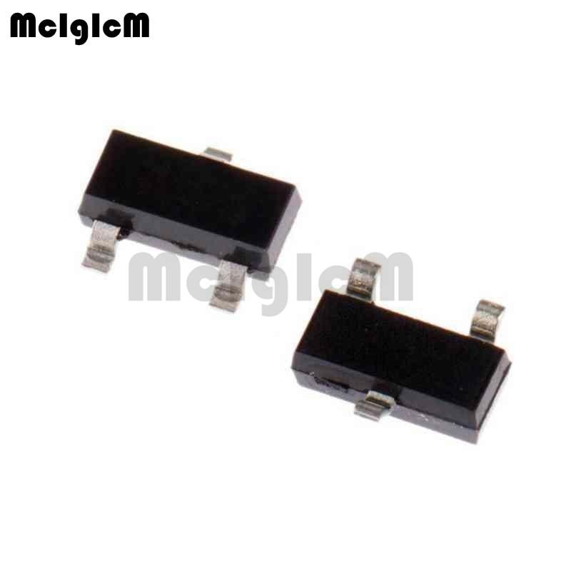 MCIGICM 2N7002K,100 шт. n-канальный 60 в 380ма (Ta) 370 МВт (Ta) SMD 2N7002K-7 МОП-транзистор SOT-23 2N7002K