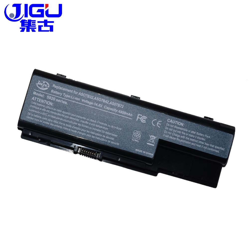 Аккумулятор JIGU для ноутбуков Acer Aspire, 8 ячеек, серия 5530G, 6930G, 7720, AS07B32, AS07B61, BT.00603.042, BT.00807.014, AS07B41