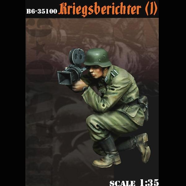 1/35 Resin Figure Soldier Model Kriegsberichter1  Photographer
