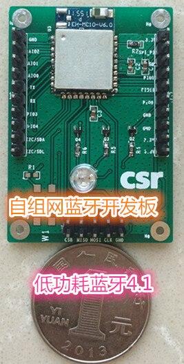 Placa de desarrollo CSR1010, Bluetooth de baja potencia, red ad hoc, prueba Bluetooth, placa de evaluación