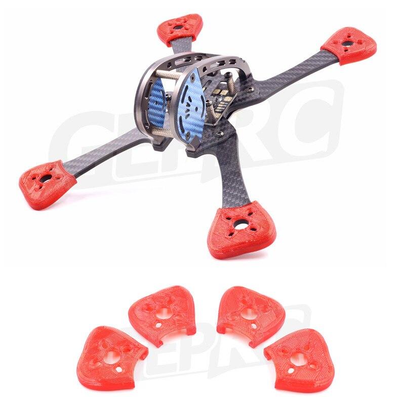 4 pcs material TPU Protetor de assento de proteção do motor de Montagem Para GEPRC GEP-TX5 GEP-LX GEP-LSX Quadcopter