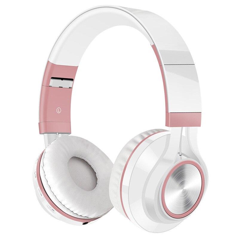 Bluetooth 4.0 sem fio dobrável fones de ouvido fone de ouvido na orelha com microfone e cartão sd jogar para o telefone esporte música