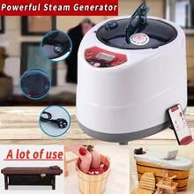 2.0/générateur de Sauna 2.5L pour la thérapie de corps de tente de station thermale de Sauna thérapie de vapeur à la maison de Machine de Fumigation appropriée à la cuisine