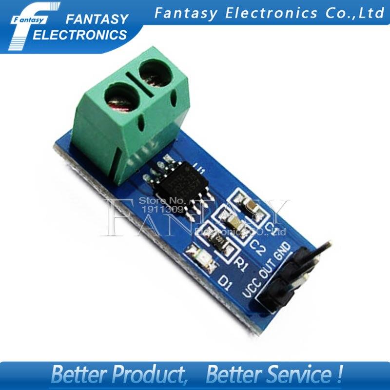 Módulo de Sensor de corriente de rango 30A 1 Uds. Módulo Chip ACS712 ACS712ELC-30A nuevo