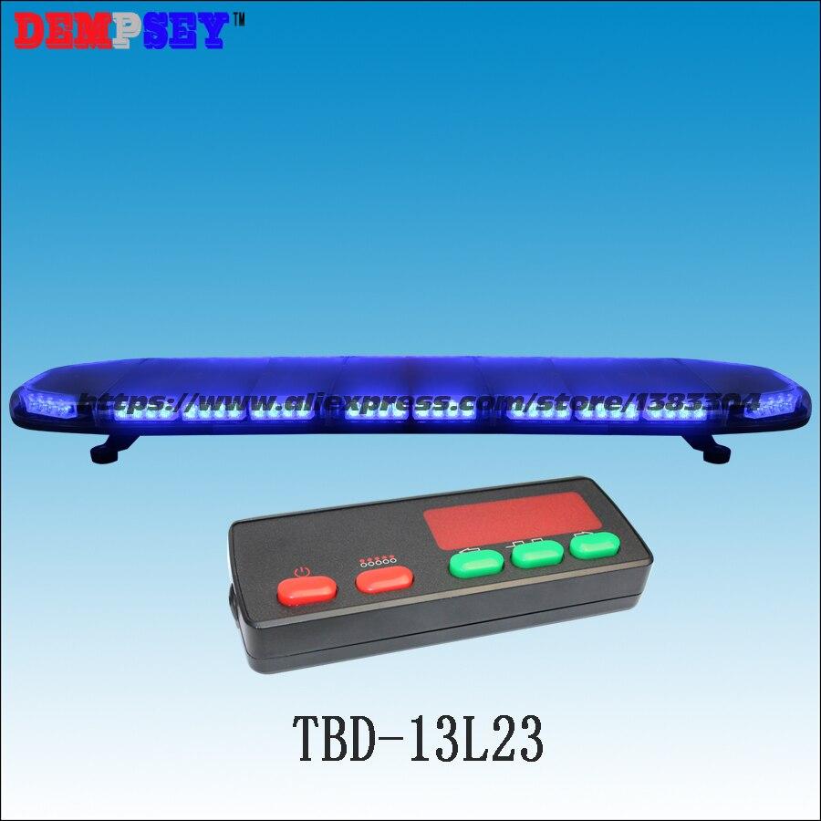 TBD-13L23 באיכות גבוהה LED סופר בהיר Blue49'' lightbar, אמבולנס/משטרת חירום אזהרת lightbar, עם controller-3K
