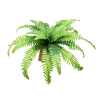 artificial plants persian plastic fern bouquet green leaves plant fake wreath grass wall hanging home wedding shop decoration