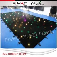 free shipping curtain rgb full color light led star curtain price