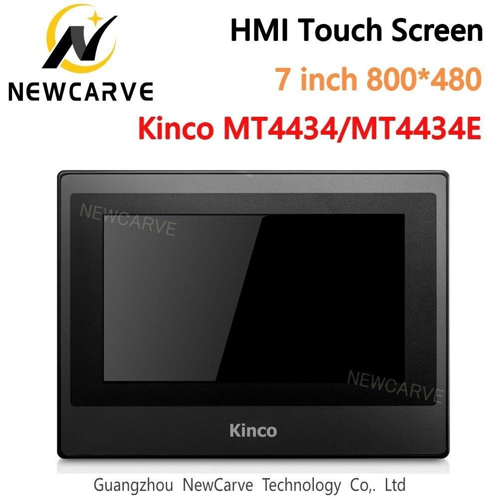 Kinco MT4434T MT4434TE HMI pantalla táctil 7 pulgadas 800*480 Ethernet 1 Puerto USB nueva interfaz de máquina humana Newcarve