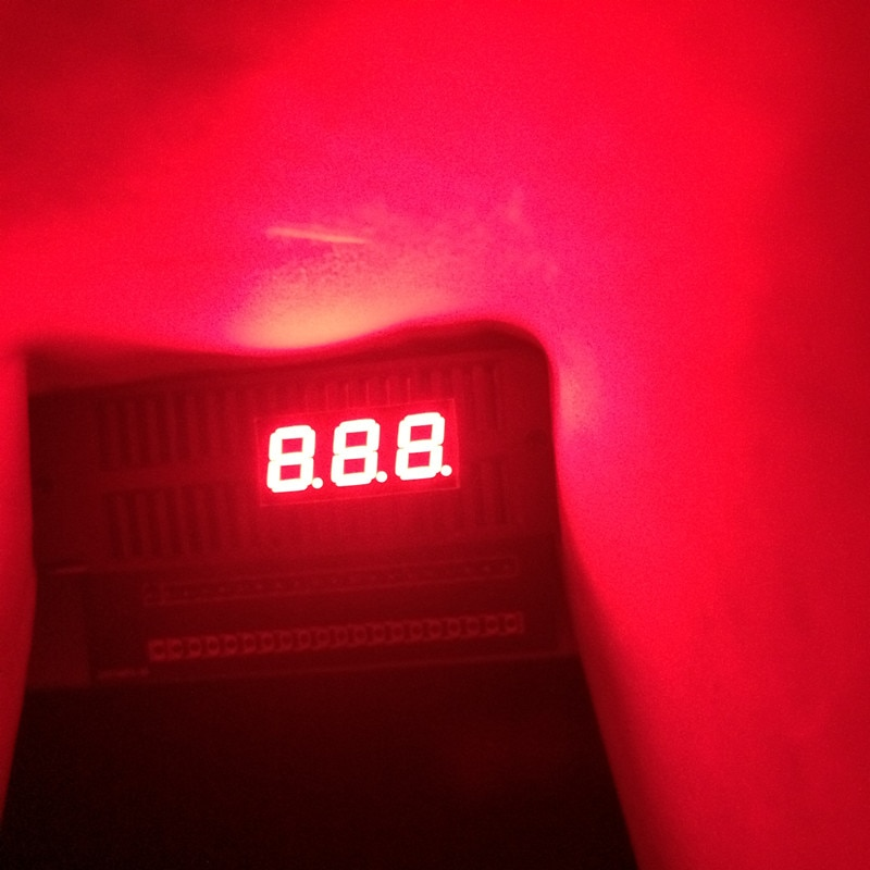 "5Pcs 7segment LED Display Cube 0.28inch 3Digital 7segmentos Cathode or Anode 3 Bit 7 Segment 0.28"" Red LED Display Signs Tube"