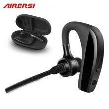 ARERSI K10 Bluetooth casque sans fil mains libres réduction du bruit bureau daffaires musique écouteurs casque avec boîte de rangement