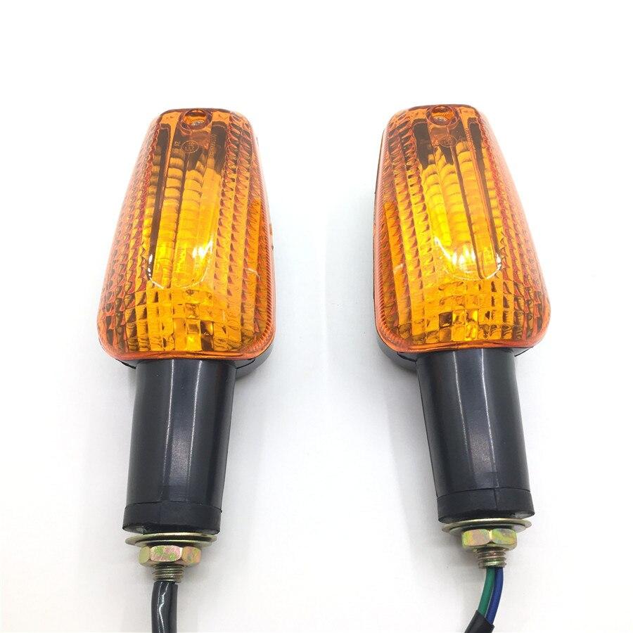 1 Пара мотоциклетный светильник с поворотным сигналом Передняя и задняя мотоциклетная индикаторная лампа для Honda CB400 CB1000 CB1300 X4 Hornet 250 600 VTR250