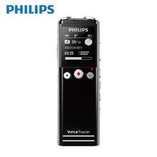 Philips 100% grabadora de voz Digital Original de 8GB hasta 64G grabación remota inalámbrica Radio FM activada por voz con 2 pilas AAA