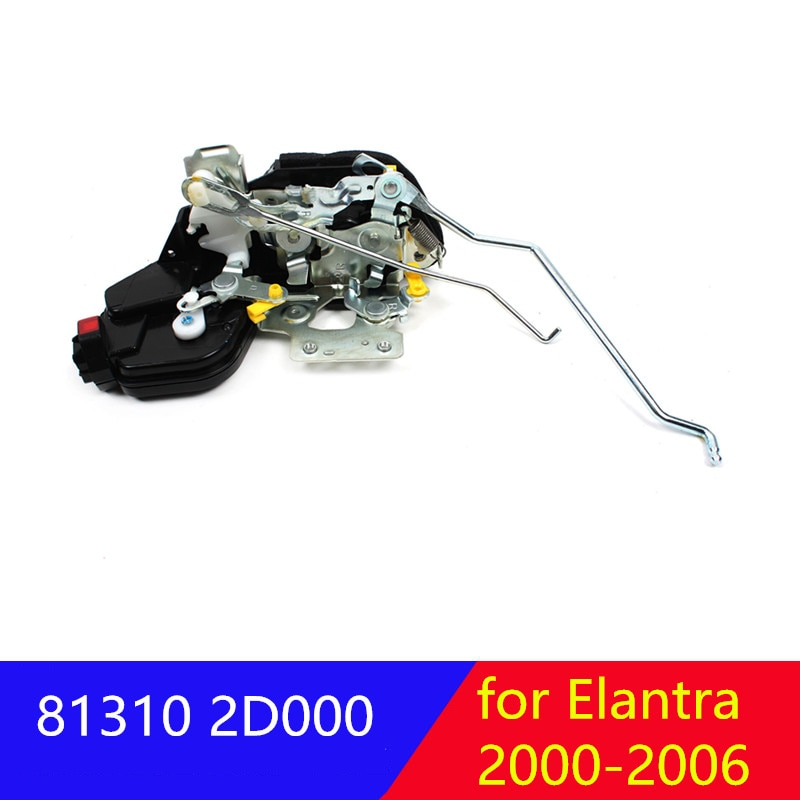 for hyundai Elantra 2000-2006 Front right left LH RH  door lock actuator  813102D000 813202D000 81310 2D000 81320 2D000