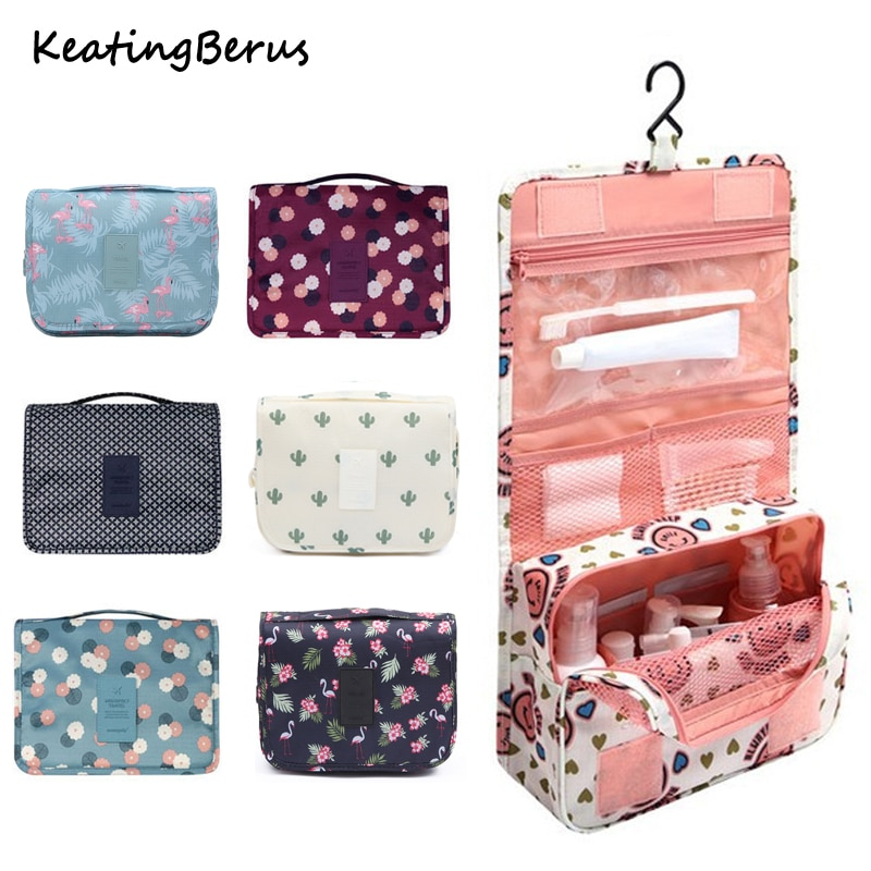 Waterproof High quality Women Men Hanging Cosmetic Bags Large Travel Beauty Cosmetic Bag Personal Hy
